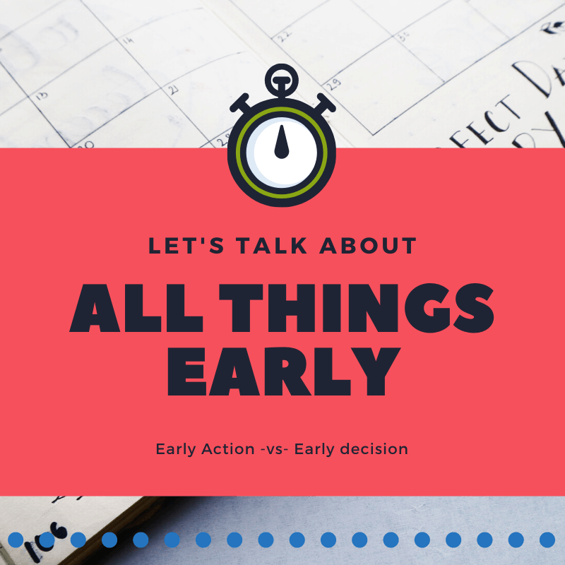 All things early early action vs early decision