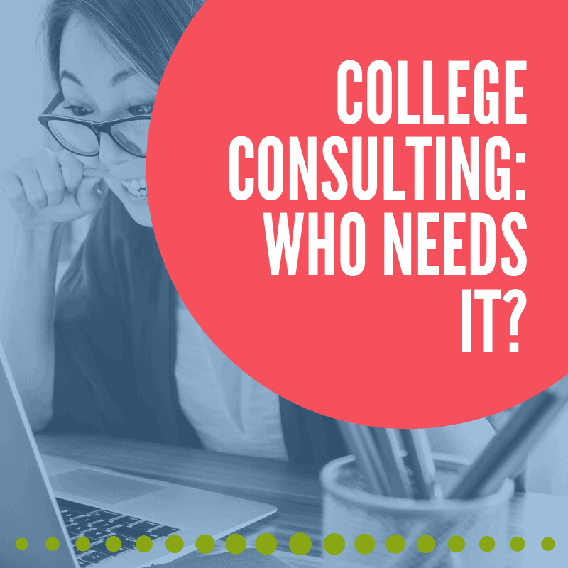college consulting who needs it? banner