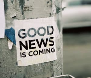 good news is coming photo