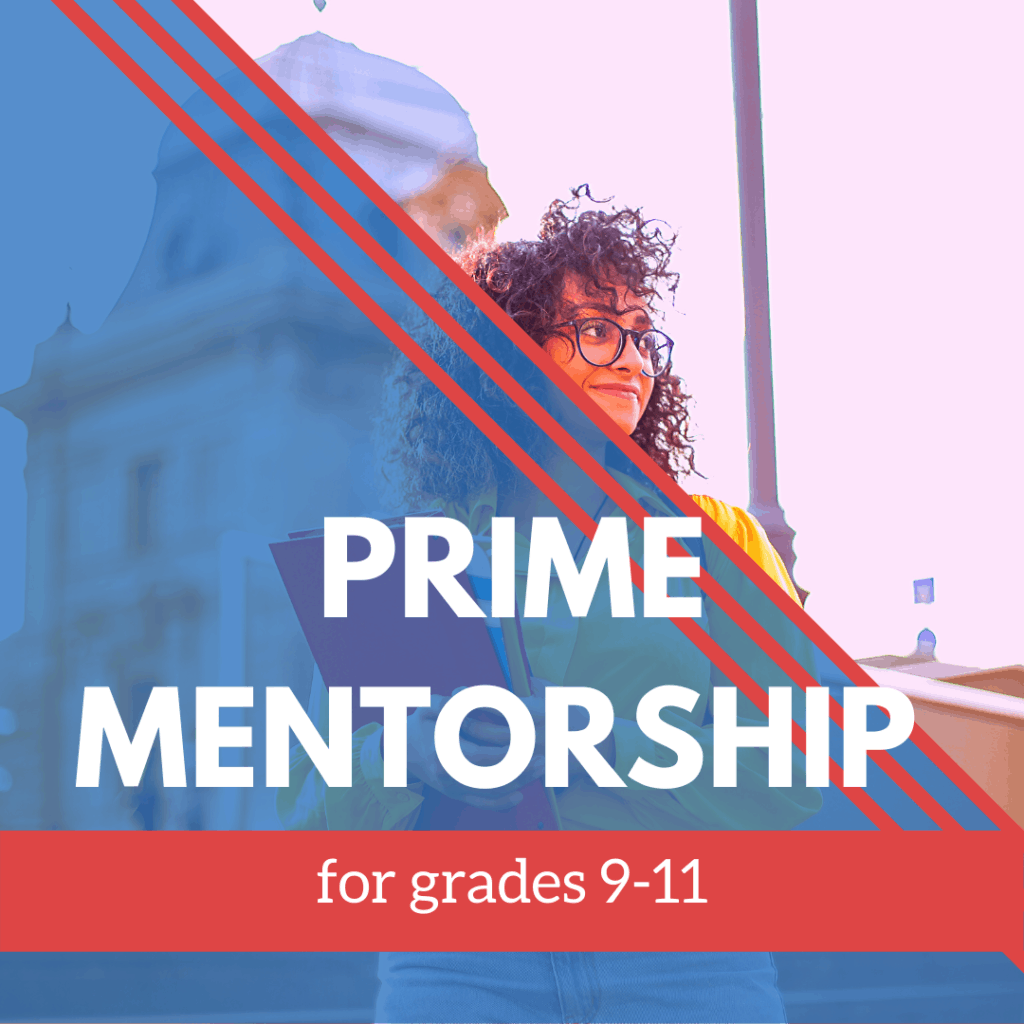 Prime Mentorship 9-11 grade banner