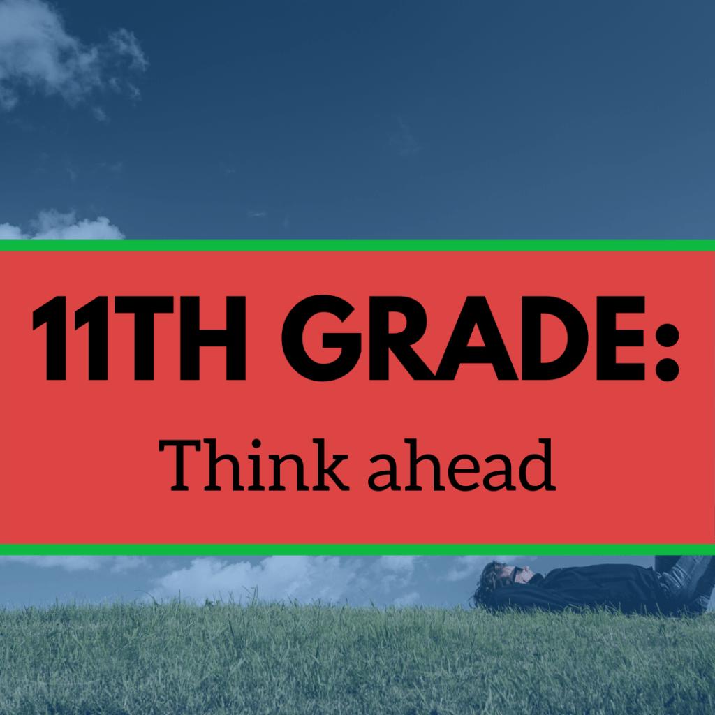 11TH Grade: Think ahead image