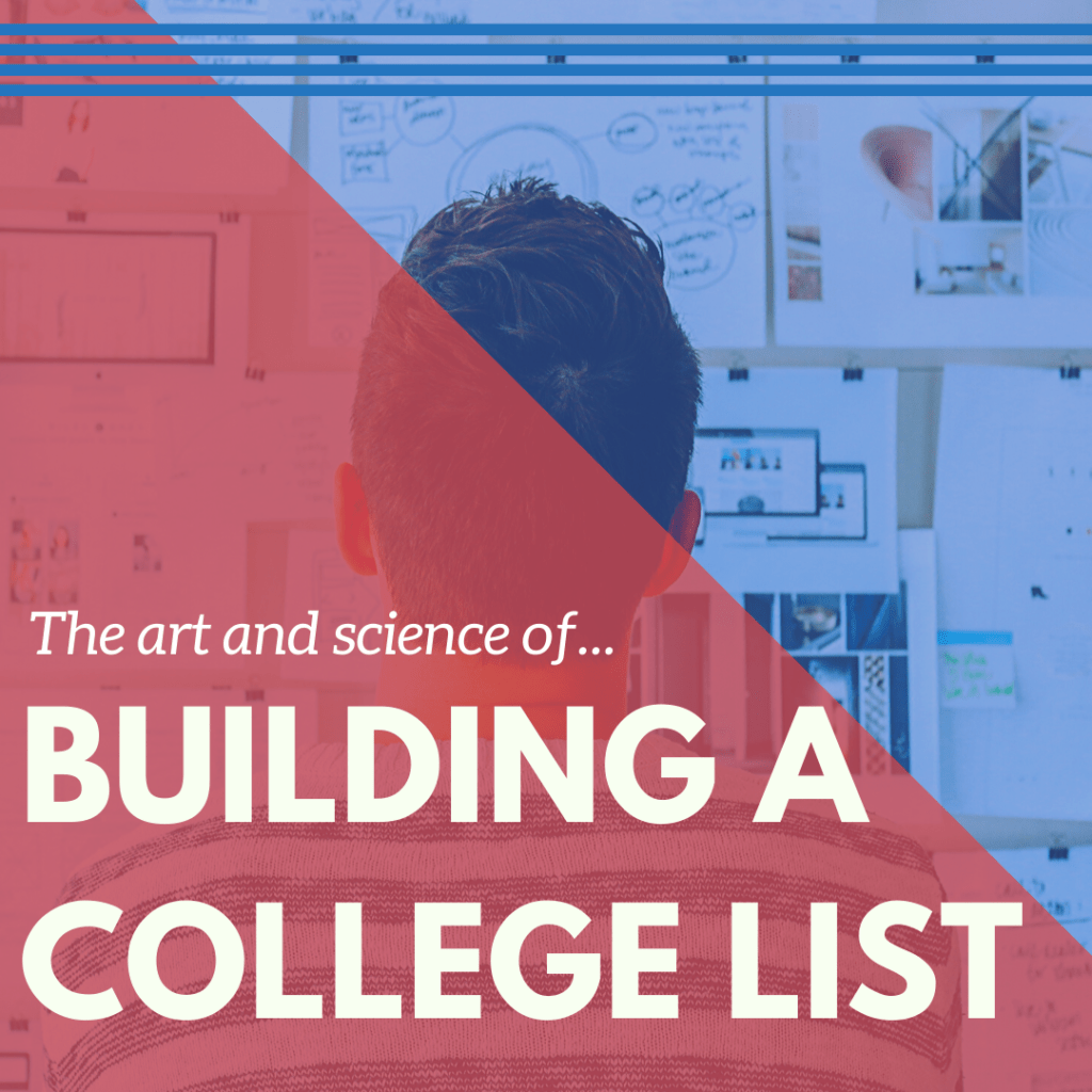 Building a college list article image