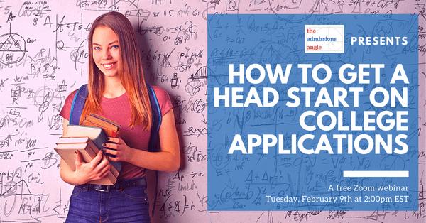 College Application head start strategies