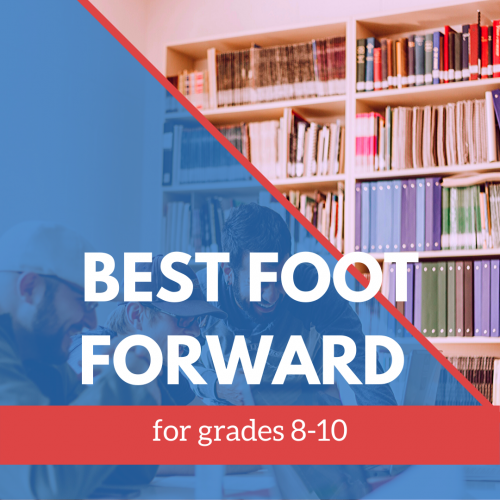 Best Foot Foward 8-10 grade banner
