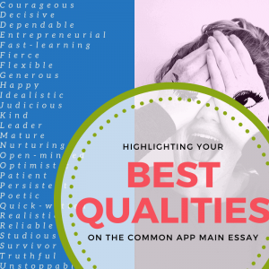 highlighting your best qualities