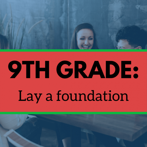 9TH Grade: Lay a foundation image