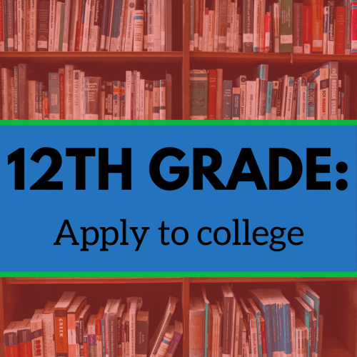 12th Grade: Apply to College image