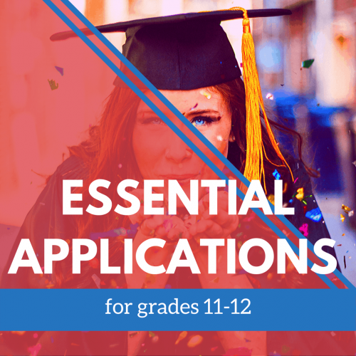 Essential Applications 11-12 grade banner