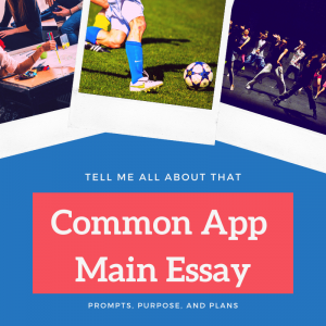 common app main essay